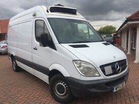 Mercedes sprinter 313 mwb fridge van