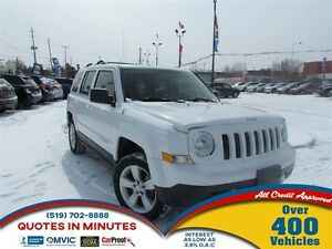 2014 Jeep Patriot LIMITED | NAV | LEATHER | 4X4
