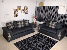 **1 Year Warranty** BRAND NEW CHELSEA (3+2) OR CORNER SOFA EXPRESS DELIVERY!!!