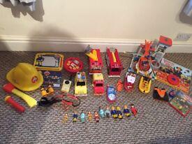 Huge fireman Sam toy bundle Xmas gift £50