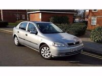 2002 Vauxhall Astra 1.4 i 16v LS 5dr **SERVICE HISTORY+LOW MILES+MINT**