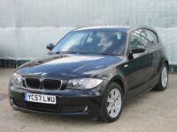 2007 (57 reg), BMW 1 Series 2.0 118d ES 3dr, Low Mileage