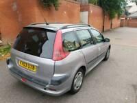 2003 Peugeot 206sw long mot bargain