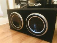 Rockford subwoofer punch 3000 Watts