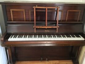 Upright Piano, regularly tuned. Very good condition