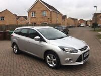 2013 FORD FOCUS ZETEC 1.6 AUTOMATIC ESTATE, MILEAGE 27990, FULL DEALER HISTORY