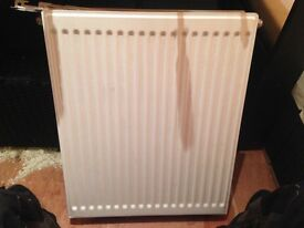 Selling 500 x 600 radiator brand new unused with brackets and fittings. For collection only.