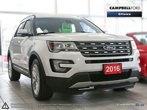 2016 Ford Explorer Limited TOP OF LINE CHECK OUT THIS PRICE