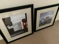 Pair of lovely large framed pictures in great condition £35 for both