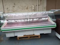 Serve Over Counter Display Fridge Meat Chiller 251cm (8.2 feet) ID:T2505