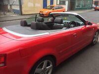 Audi A4 convertible excellent condition
