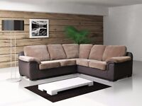 50% REDUCTION IN PRICE** AMY SOFA COLLECTION AVAILABLE IN FABRIC OR FULL LEATHER **CORNERS**3+2'S