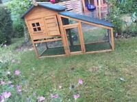 Excellent condition rabbit hutch/cage/run