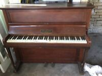 Small upright piano free for collection