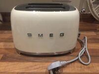 Smeg 2 Slice Toaster - New