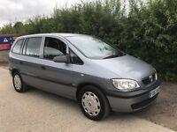 Vauxhall zafira 1.6, 7seater
