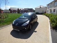 Peugeot 207 2012 plate