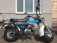 Sandbike/VANVAN style 50cc Learner legal