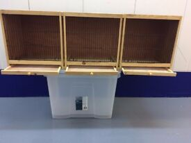 Double and triple bird cages - Second hand - Good price