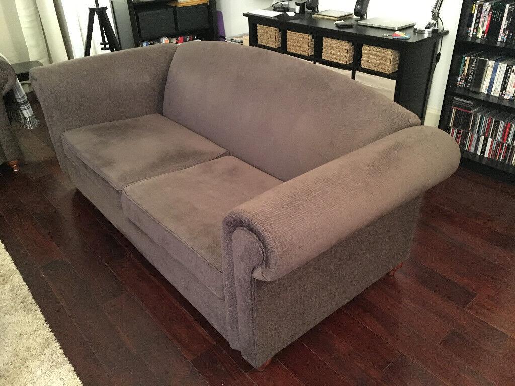 IKEA 3-Seater Balingsta Brown Sofa