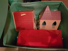 peppa pig houses and castle