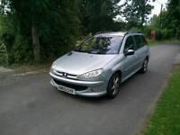 Peugeot 206 sw estate