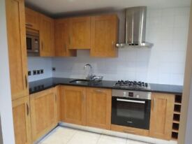E14 - 2 BEDROOM PART FURNISHED DUPLEX APARTMENT - VIEWS OF THE CANARY WHARF SKYLINE