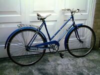 pannonia popular 3 speed adults cycle . 70's 80's . totally original , 30 years stored .