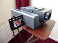 Vintage Relecta Diamator Slide Projector and accessories