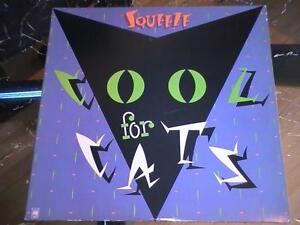 Squeeze: Cool for Cats Original Pressing LP!!
