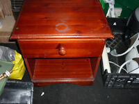 Two bedside cabinets with drawers.