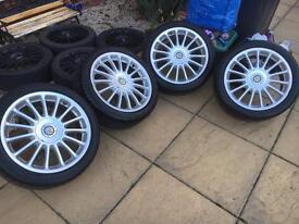 "17"" MG alloy wheels & Tyres"