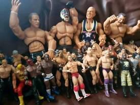 wwe wrestle figures, huge amount