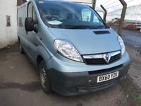 FREE DELIVERY-2011 VAUXHALL VIVARO 2900 CDTI SWB 2.0L DIESEL,ONE OWNER,YEAR MOT,FREE DELIVERY