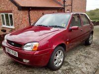 2001 Ford Fiesta Ghia Mark 4, 1.25 Zetec engine, 5 doors