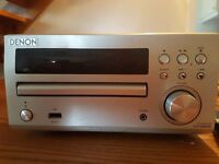 DENON STEREO model RCDM 39DAB.. WITH MISSION M30 SPEAKERS