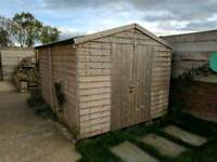 10x8 garden shed (2 years old)
