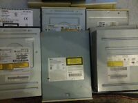 CD ROM and RW Drives