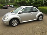 Volkswagen beetle 68000 miles mot March 2017 t/b fitted @ 54000