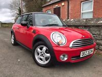 Totally mint 2007 Mini One 1.4 16v , trade in considered, credit and debit cars accepted