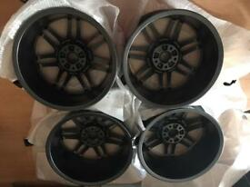 Genuine Audi Alloy Wheels 18inch; 5x112.