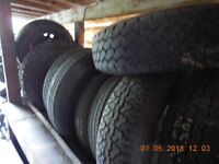 Large quantity of good car tyres, some nearly new, surplus to requirements. £20 the lot