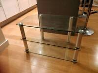 Glass TV Stand - Delivery Available.