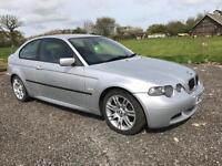 203(03) BMW 325Ti Sport Compact - 2 Owners - Long MOT