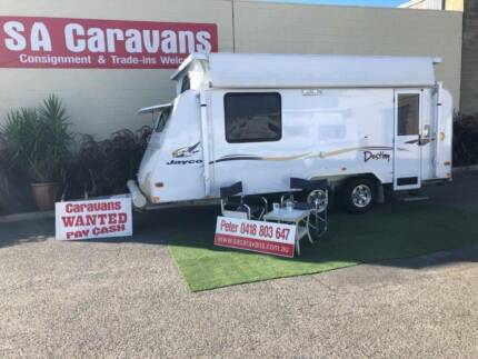 JAYCO DESTINY 15'  OUTBACK POP TOP with AIR COND.