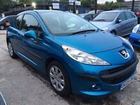 Peugeot 207 1.4 HDi S 3dr (a/c)£2,595 . 1 YEAR FREE WARRANTY. NEW MOT
