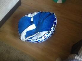 Baby seat bean bag for boys