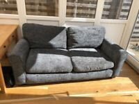 2x Grey Sofa's free to collect