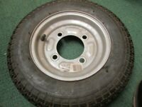 Spare Wheel For Trailer Mp68102 350 x 8 Maypole Genuine Top Quality Product New,