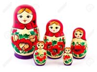 Set of 5 dolls Matryoshka - the best gift from Russia
